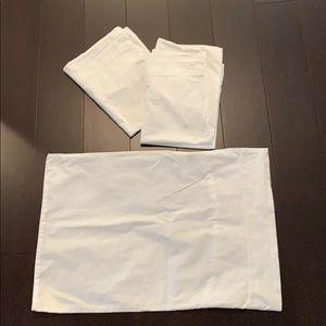 Organic cotton toddler pillowcase